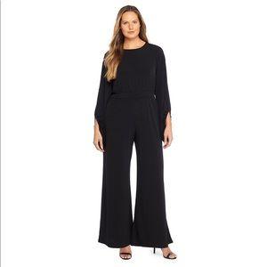 NWT The Limited Plus Split Sleeve Jumpsuit $109